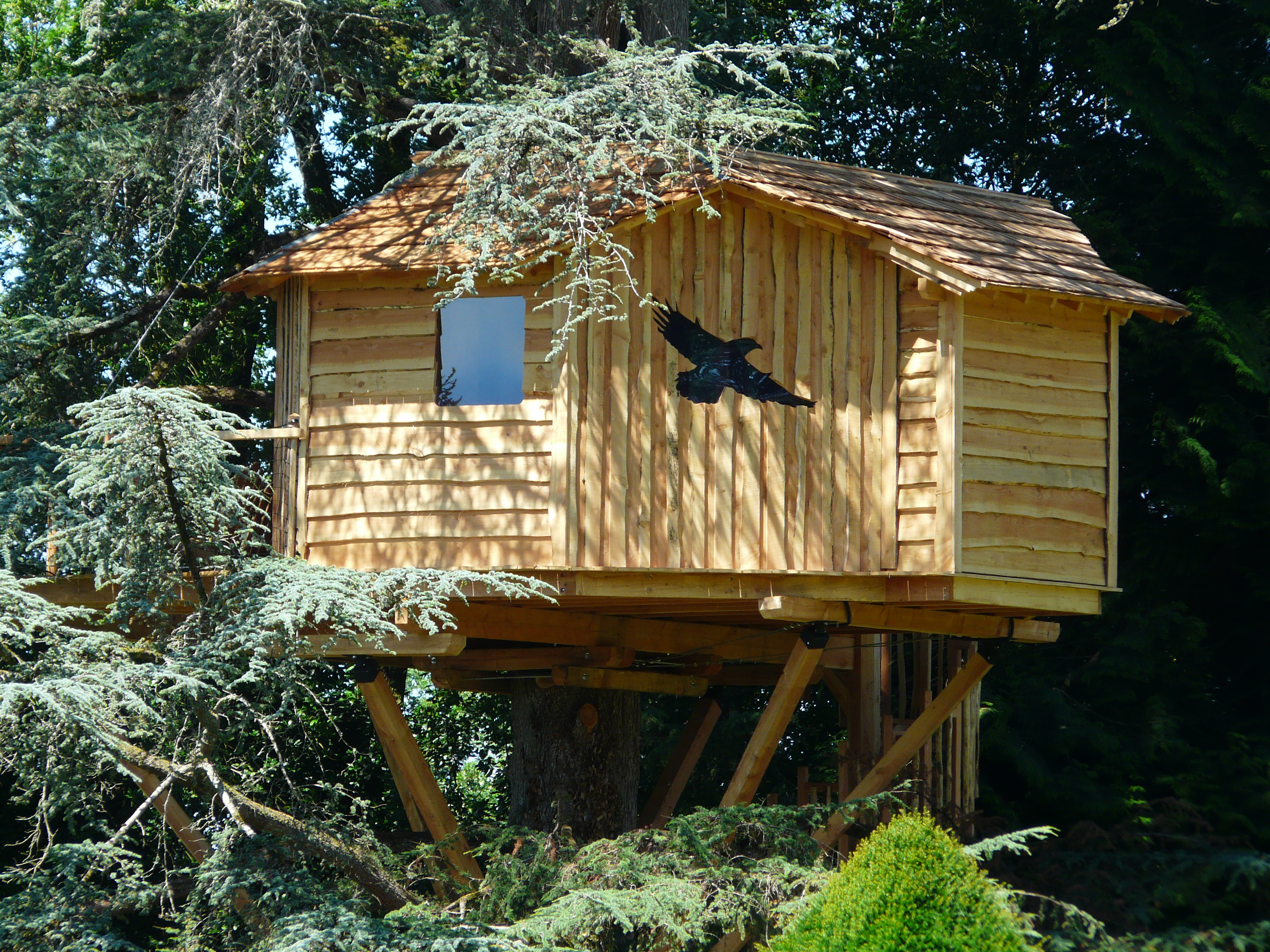 Pyrenees Treehouse (2 people)
